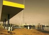 Marina Aeroporto il distributore
