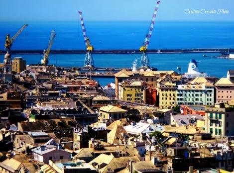 Vista da Spianata Castelletto