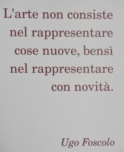 citazione Ugo Foscolo