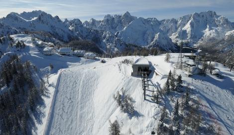 montagna inverno
