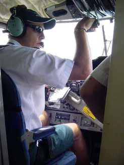 Maldive idrovolante pilota