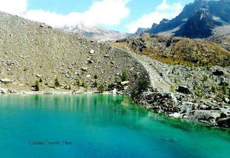 Morena e lago Blu