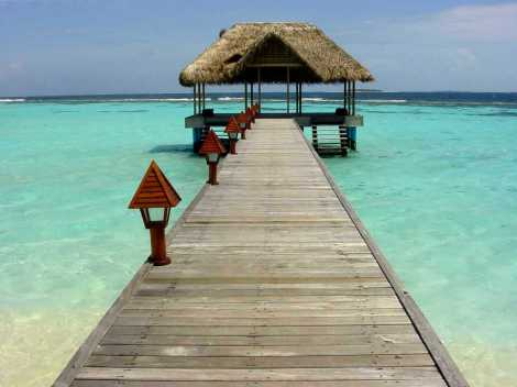 pontile Maldive