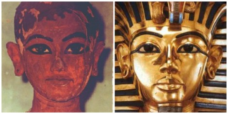 Tutankhamon collage