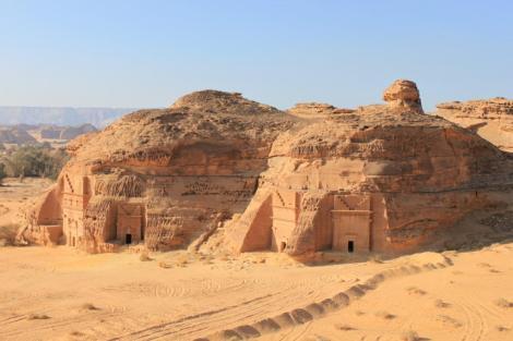 Mada'in Saleh tombe