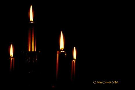 Xmas candles 3