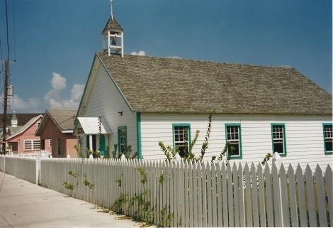 Bahamas chiesa di Elbow Cay