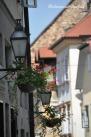Lubiana lampioni Old town