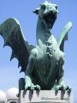 Lubiana ponte dei draghi