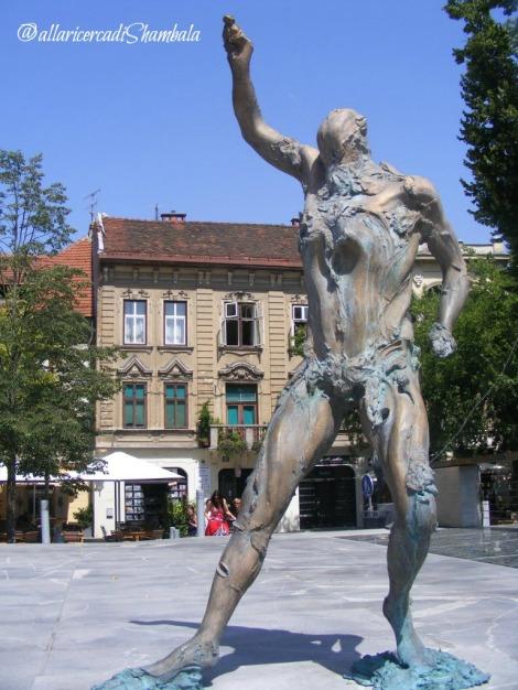 Lubiana scultura
