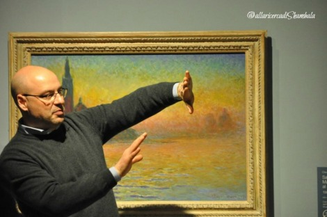 Marco Goldin Verso Monet