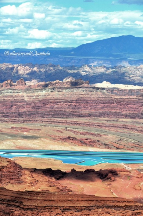 Dead Horse Point lago salato