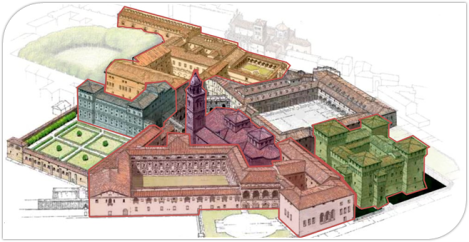 Palazzo Ducale mantova vista